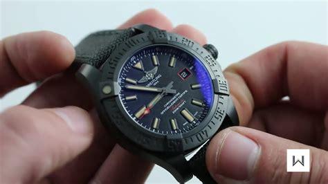 Breitling Avenger Blackbird Ref V17311 Watch Review  Youtube