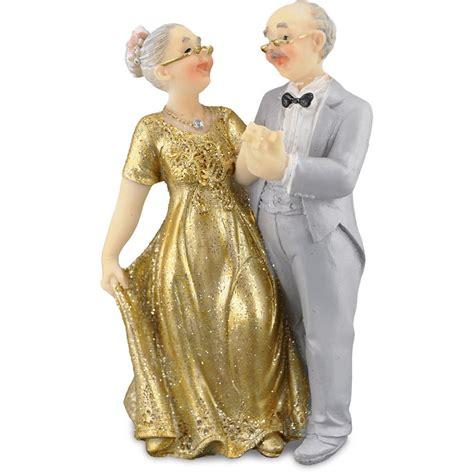 brautpaar  cm hochzeitspaar goldpaar gold