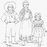 Pioneer Coloring Clothing Pioneers American Pages Children Activities Early Colouring Draw Shelbycountyhistory Boys Drawings Bytes History America Fun Pants Wore sketch template