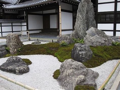 landscaping ideas with big rocks 17 best images about zen garden on pinterest gardens ryoanji and the five