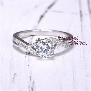 engagement ring womens sterling silver promise ring With sterling silver wedding rings for her