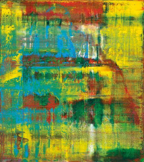Gerhard Richter masterpiece from the collection of Eric ...