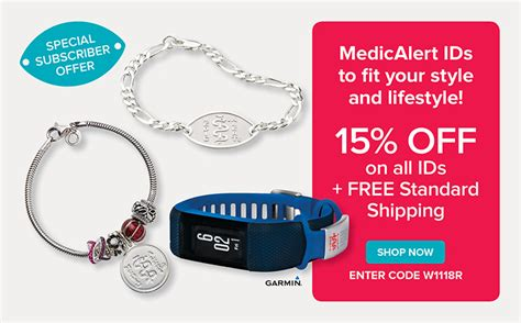 bracelets jewelry products medicalert canada