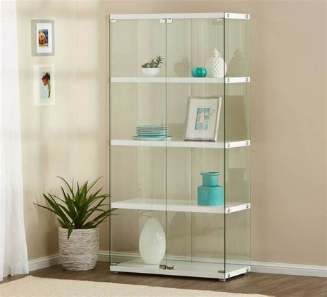 glass cabinet with regard to gallery display