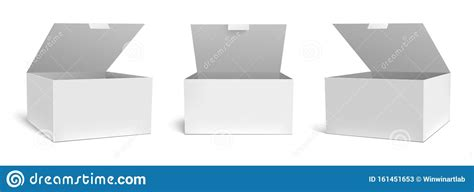 Now you're even closer to fitting every shade of your presentation aims. Realistic Open Box Mockup. White Packaging Gift Boxes ...