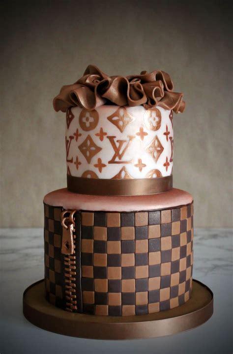 lv women leather shoulder bag tote handbag cake louis vuitton cake chanel cake