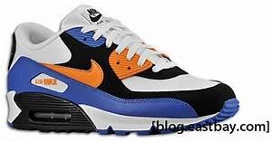 Nike Air Max 90 White Bright Mandarin Black