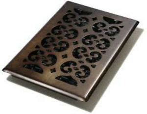 Download files and build them with your 3d printer, laser cutter, or cnc. Decor Grates Oil Rubbed Bronze 6 x 12 Steel Floor and Wall Register Vent | eBay