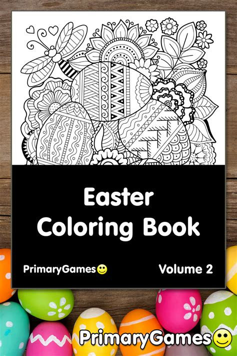 easter coloring  volume   printable   primarygames
