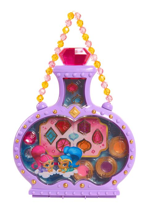 nickelodeon shimmer  shine genie bottle makeup case toys games pretend play dress