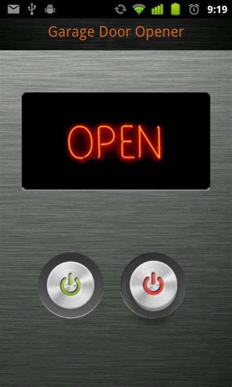 garage door opener with app monitor your garage door with android app