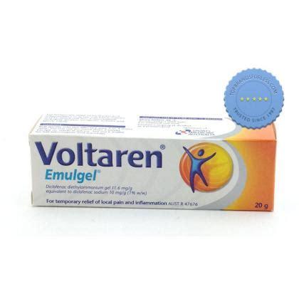 voltaren emulgel counter 20g diclofenac gel inflammatory anti delivery topbrandsforless