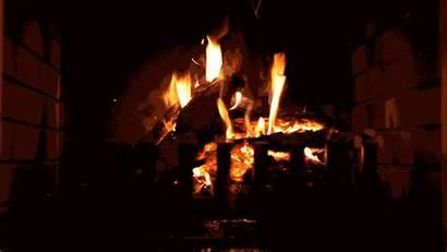 Yule Shutterstock Kaminfeuer Burning Loop