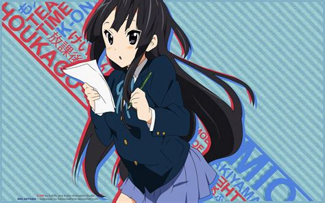 Mio S 4k Wallpapers by Mio Akiyama Wallpapers Wallpaper Cave