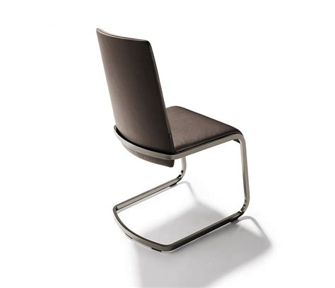 luxury leather cantilevered dining chairs team 7 f1