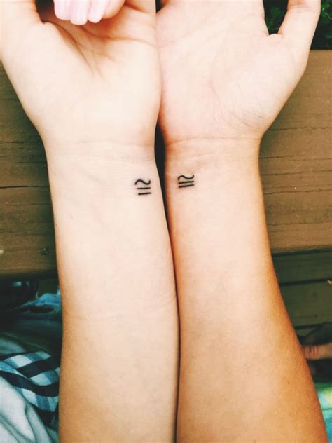 matching sister tattoo designs  redefine  bonding