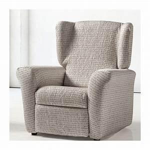 Housse Fauteuil Relax : housse fauteuil relax extensible letras ~ Teatrodelosmanantiales.com Idées de Décoration