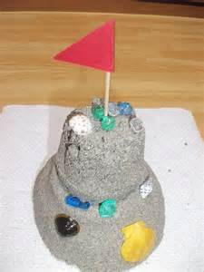 Sand Castle Crafts Preschool