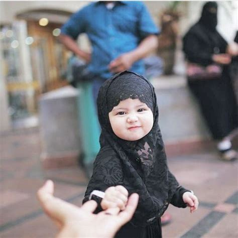 baby hijab  islam image baby hijab cute babies cute baby pictures