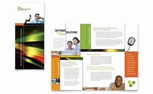 internet software brochure template word publisher With product brochure template word