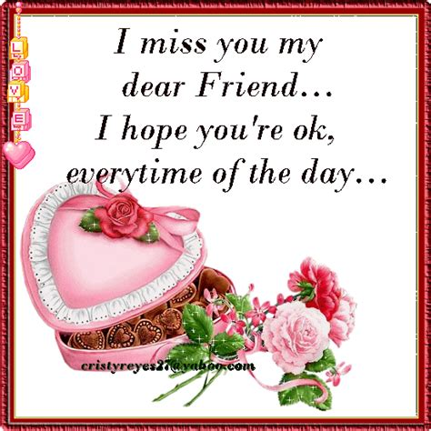 Will Miss You Dear Friend Quotes