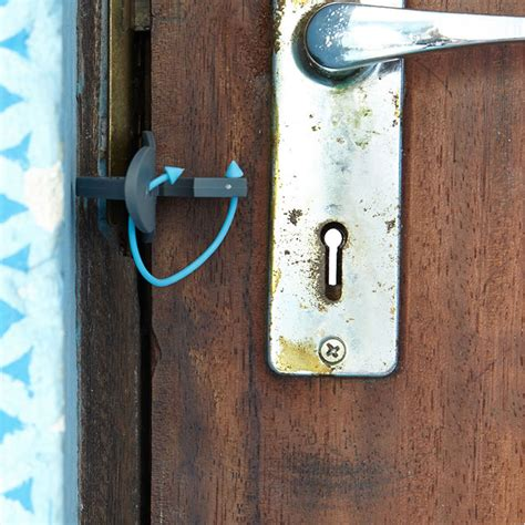 Door Lock by Portable Door Lock Personal Safety For Travelling