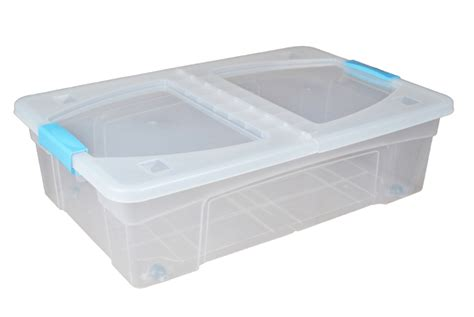 32 Litre Underbed Plastic Storage Boxes With Clip Handle Lids And Wheels Toddler Plastic Adirondack Chair Repair Epoxy Putty Propane Gas Line Small Discs Uk Petrol Tank Shower Door Handles Razor Blades Napa Photo Sleeves For Wall