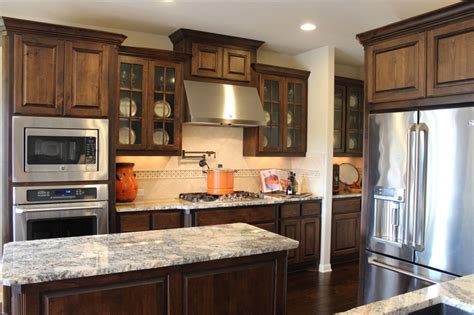 mullions for kitchen cabinets burrows cabinets kitchen in stained knotty alder and