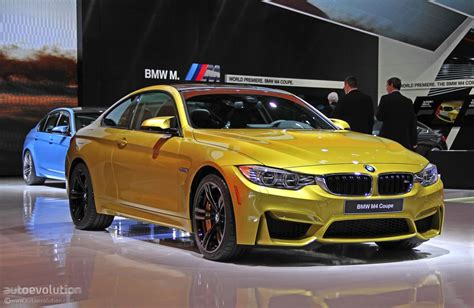 first bmw the first ever bmw m4 debuts at 2014 detroit auto show
