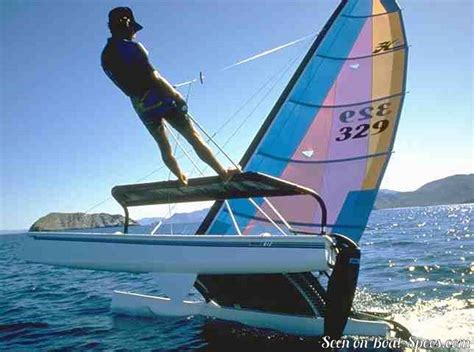 Catamaran Hull Graphics by Hobie Cat 17 Se Sailboat Specifications And Details On