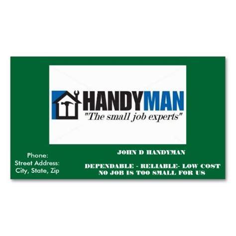 handyman business card zazzlecom business cards