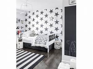 Fille Noir Et Blanc : deco chambre fille noir et blanc ~ Melissatoandfro.com Idées de Décoration
