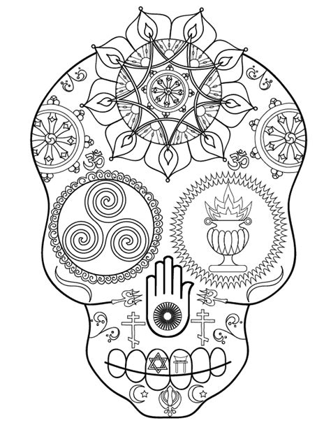 skull coloring book sugar skull coloring book launch and free printable