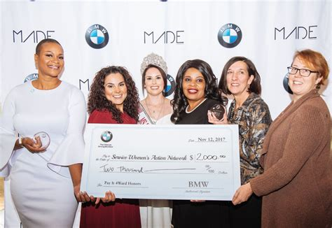 bmw  celebrate unsung sheroes serving  country
