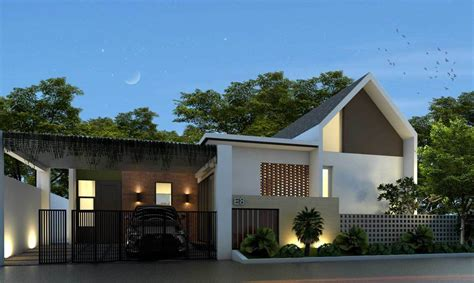 model pagar rumah subsidi desain rumah minimalis terbaru