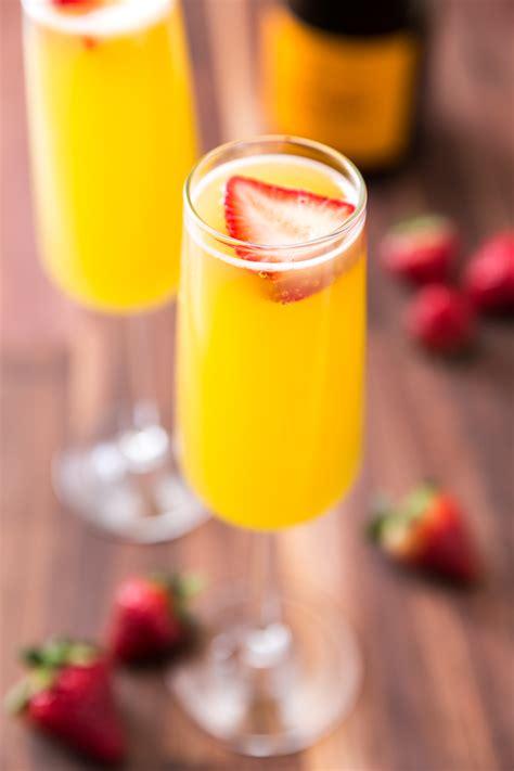 ingredients for mimosas best pineapple strawberry mimosas recipe how to make pineapple strawberry mimosas