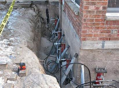 Foundation Repair Cost Leveling Hydraulic Lifting Costs