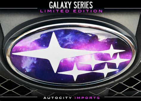 subaru emblem galaxy subaru badges limited edition autocity imports blog
