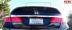 Atlp Performance Carbon Fiber Trunk Lip Spoiler  2013-16 Honda Accord Sedan  1x1