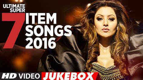 Ultimate Super 7 Item Songs 2016