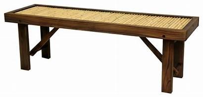 Asian Bench Bamboo Benches Japanese Wood Bonsai
