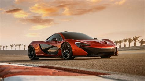 Wallpaper Mclaren P1 Orange Supercar 1920x1200 Hd Picture