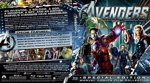 Avengers - Movie Blu-Ray Custom Covers - The Avengers 2012 ...