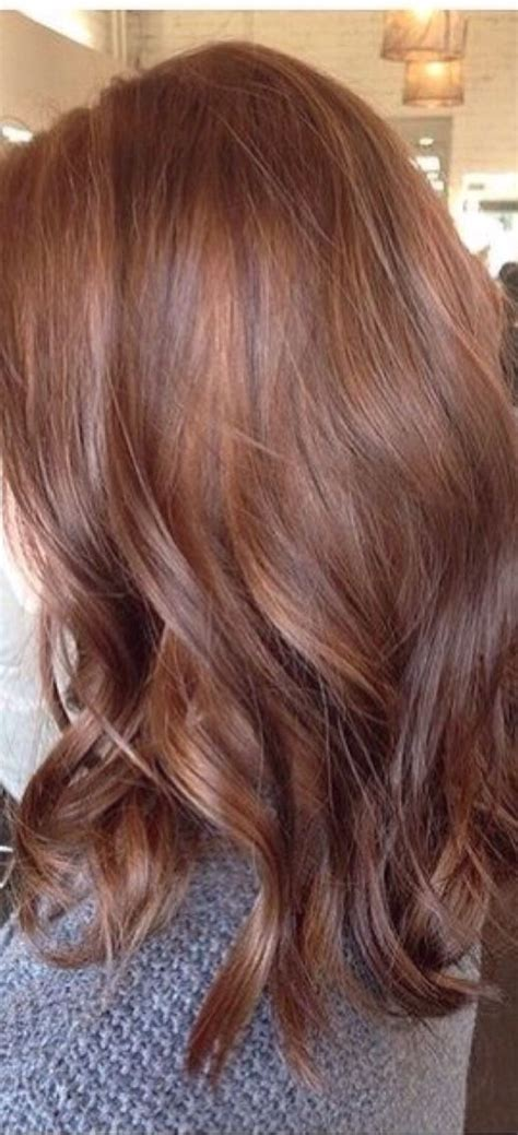 love  color soo  bombre hair color auburn