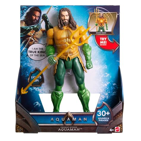 aquaman trident strike   aquaman action figure