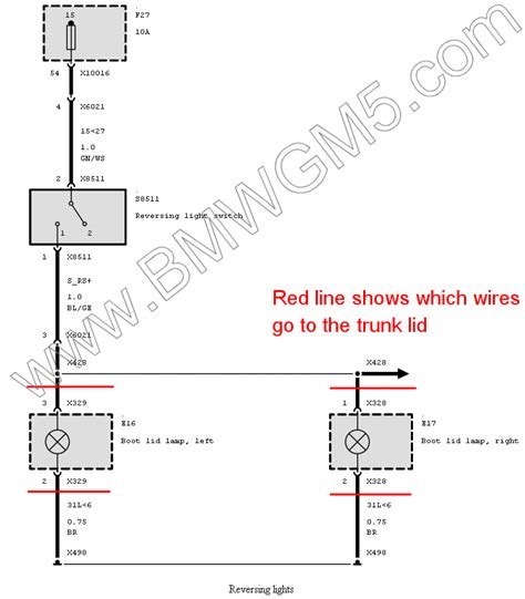 amazing bmw e46 trunk wiring diagram gallery best image