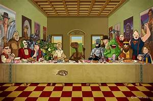 Almost.: The Last Supper: 80s edition