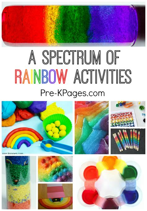 a spectrum of rainbow activities pre k pages 951 | Rainbow Activities for Preschool