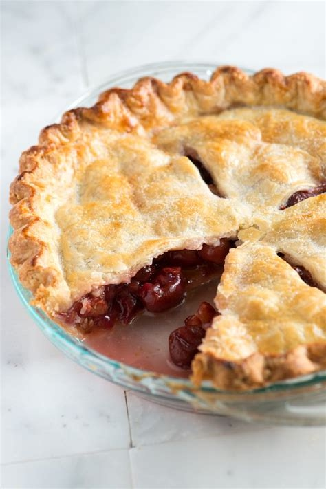 easy pies easy homemade cherry pie recipe