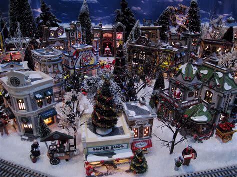 christmas model village wallpapers fre animated desktop backgrounds